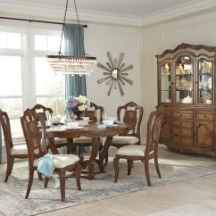 Living Room Round Table Navy Blue And Yellow Decor Homelegance Dining Pecan Veneer 1704 60 At Cozy Inc