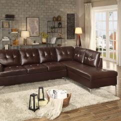 Sectional Sofa Dallas Fort Worth Click Clack Bed Homelegance Living Room 8378brw Charter