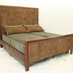 Hickory Chair King Size Bed Mid Century Modern Cane Barrel Chairs Old Tannery Bedroom B 230 K Sf