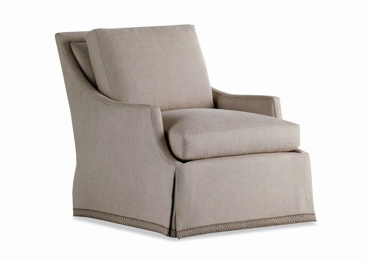 Jessica Charles Swivel Chairs Jessica Charles Living Room Bridgette Swivel Rocker Chair