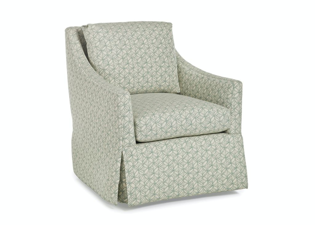 Jessica Charles Swivel Chairs Jessica Charles Living Room Ludlow Swivel Rocker 192 Sr
