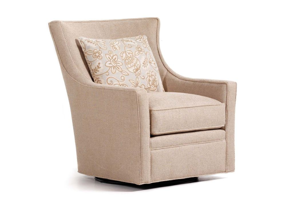 Jessica Charles Living Room Delta Swivel Chair 478S