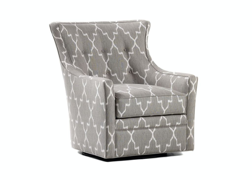 Jessica Charles Living Room Delta Swivel Chair 479S