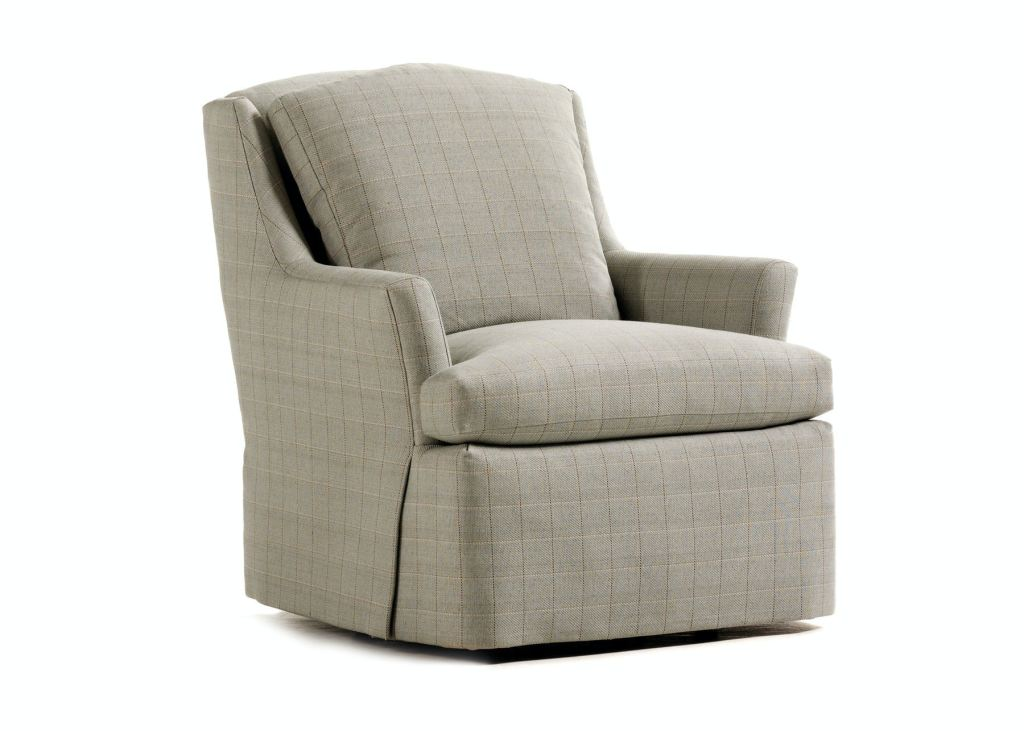 Jessica Charles Swivel Chairs Jessica Charles Living Room Cagney Chair 498 L Hickory