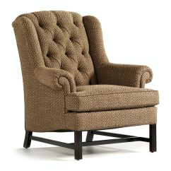 Jessica Charles Chairs Foldable Gym Chair Living Room Alexander Tufted Wing