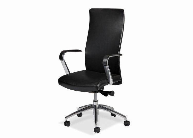 lift chairs edmonton alberta black wire chair hancock and moore home office sleek swivel tilt pneumatic