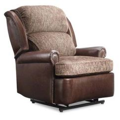 Living Room Furniture Sets Austin Tx Beach Decor Leathercraft Bradley Recliner With ...