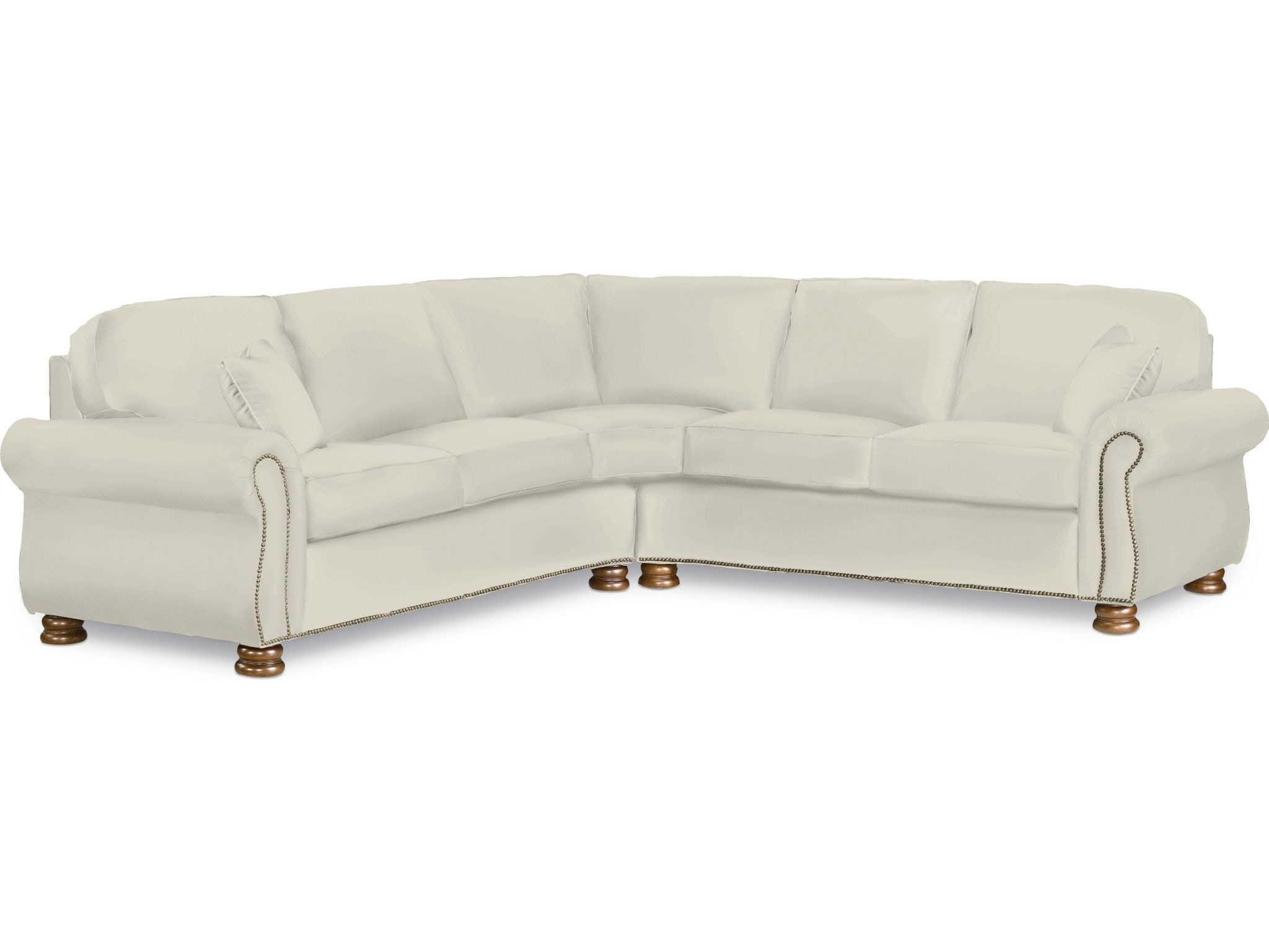 thomasville benjamin sofa arm covers living room sectional 1462 sect