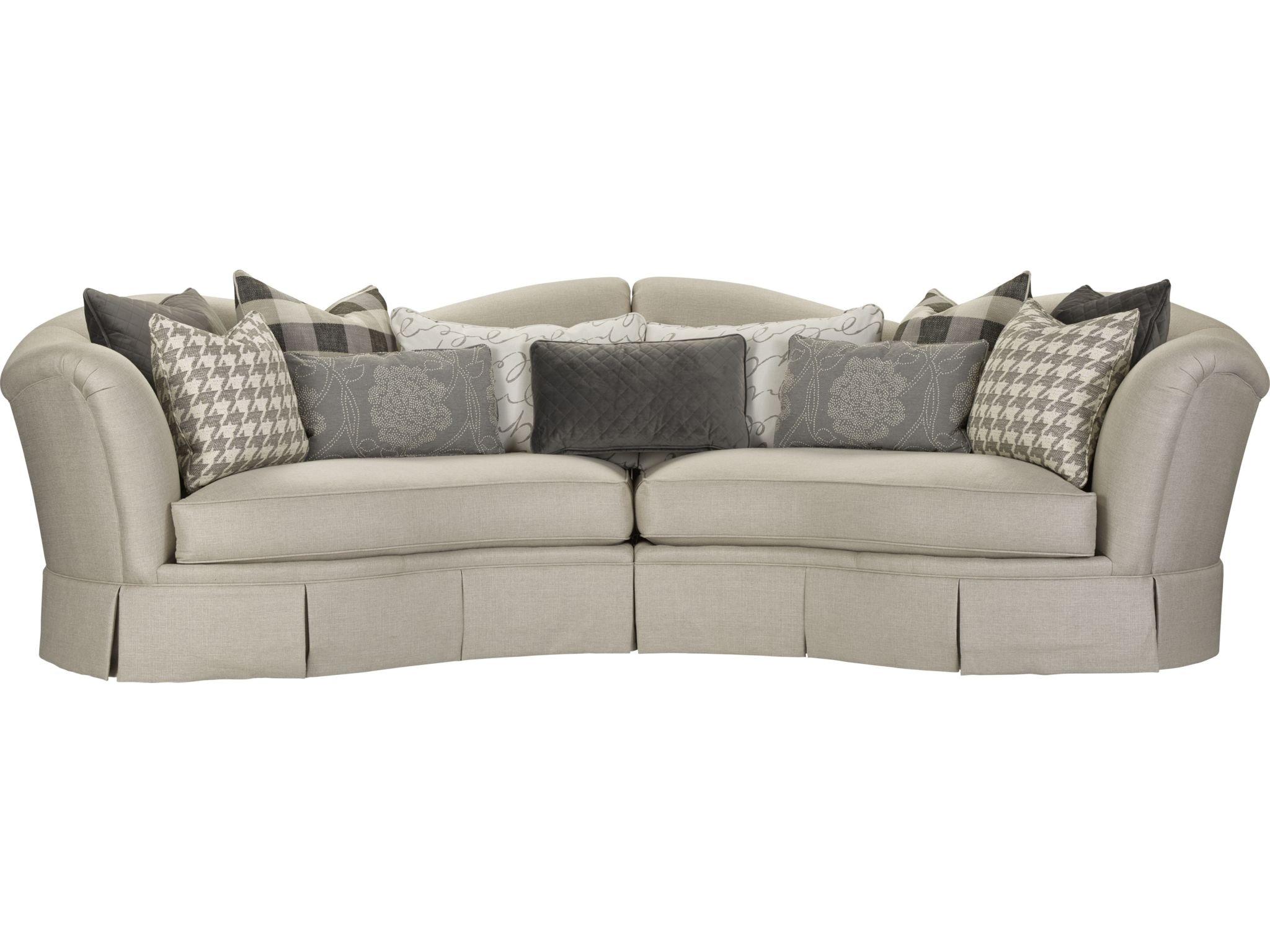 thomasville reclining sofa small sleeper sectional living room san lorenzo 1471 sect
