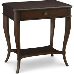 Hickory Chair Bedside Tables Kohls Anti Gravity Thomasville Bedroom Ludwig Table 83411 805