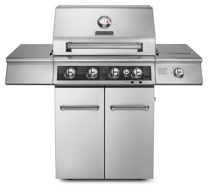 kitchen aid gas grills decorating kitchenaid outdoor patio freestanding grill 720 0732 sides