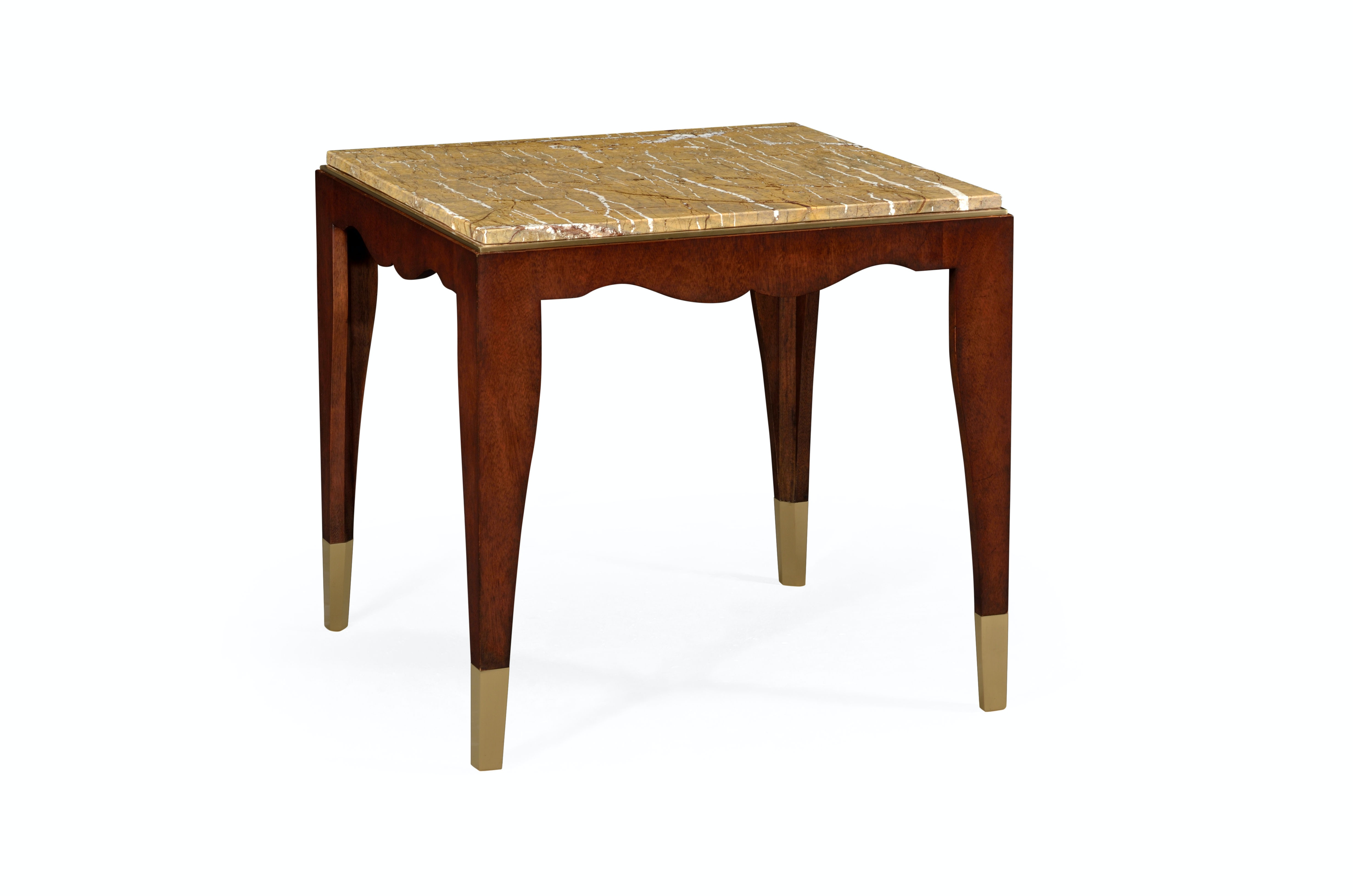 mahogany side tables living room home decor ideas jonathan charles square table with bidasar gold marble top 491159 mag at douds furniture