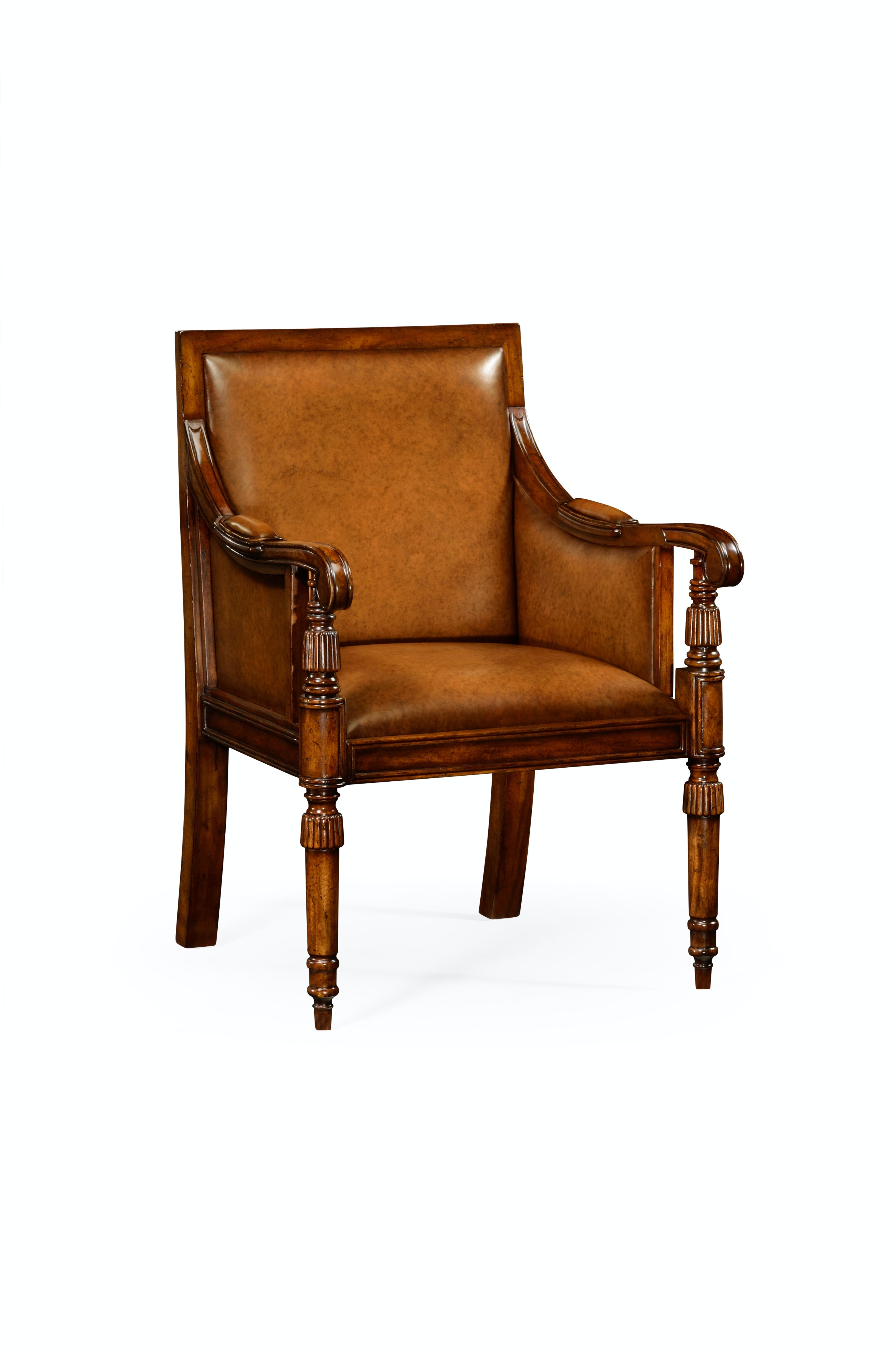 bergere dining chairs table and chair rentals nyc leather with medium antique chestnut jonathan charles qj492626wall002