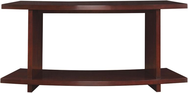 stickley living room curved sofa table