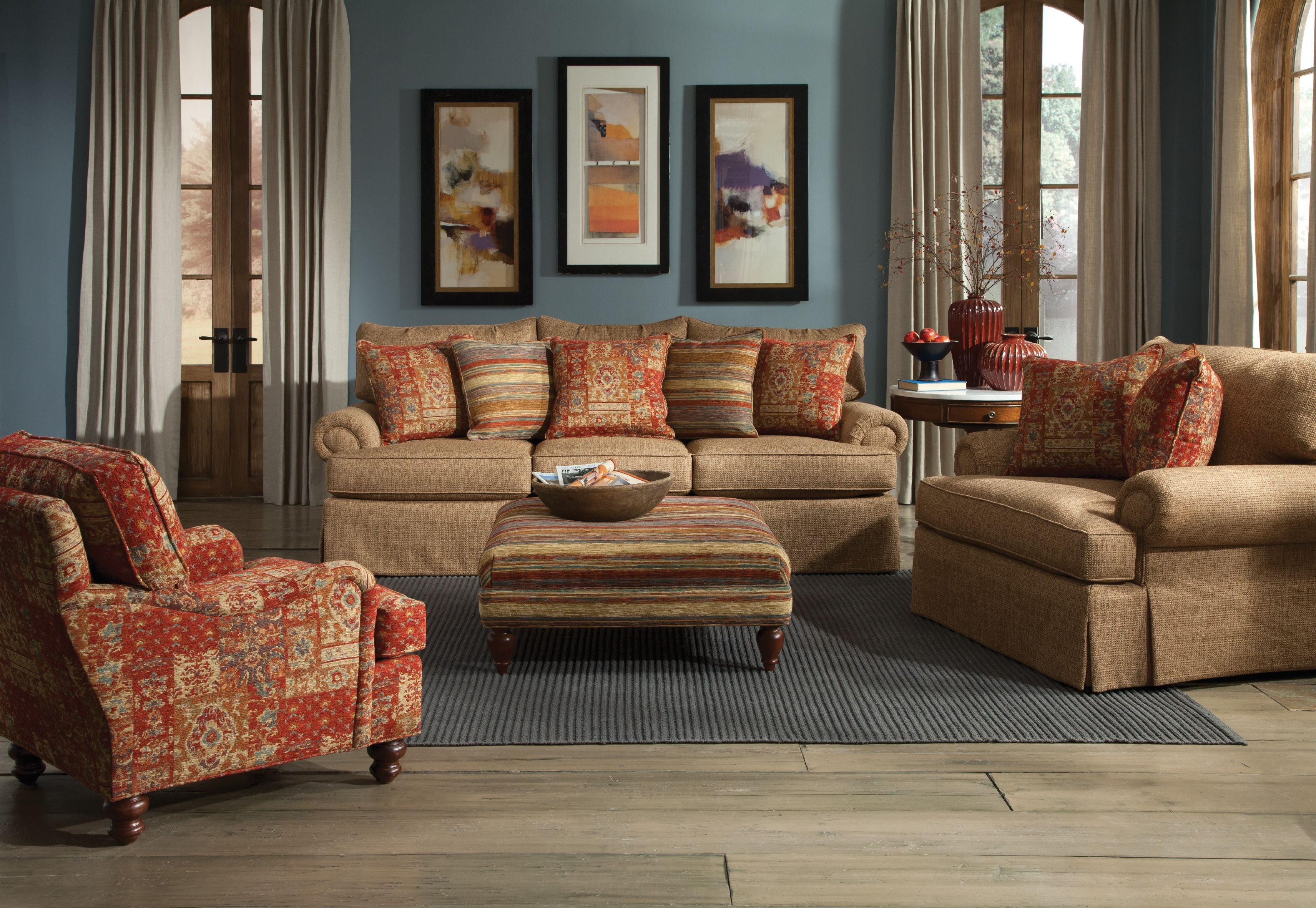 craftmaster living room furniture teal accessories sofa 927550 norwood at