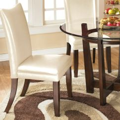 Ashley Dining Room Chairs Your Zone Flip Chair Green Charrell Uph Side Qty 2 D357 02 Portland Or