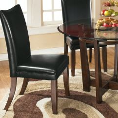 Ashley Dining Room Chairs Steel Chair Weight Limit Charrell Uph Side Qty 2 D357 04 Portland Or