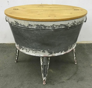 ashley shellmond coffee table with