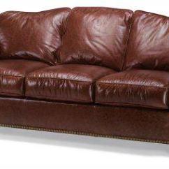 Black Leather Sofa With Nailheads Best Sleepers Nailhead Trim Dark Brown