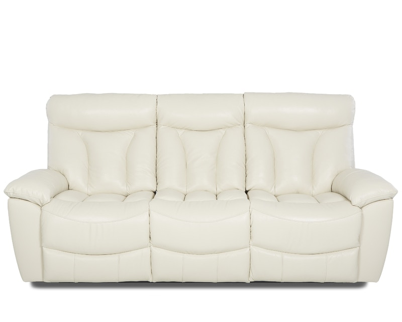 castleton sofa leather austin texas klaussner living room deluxe reclining 517431