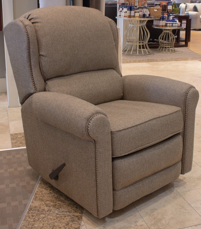 glider recliner chair purple patio seat cushions smith brothers swivel reclining 645874 talsma living room at furniture