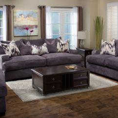 Michael Nicholas Aspen Sofa Accent Pillows Brown Leather Designs Living Room Ettica 043685
