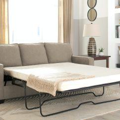 Galileo Cream Microfiber Queen Sleeper Sofa Raymour And Flanigan Sofas Bed Talentneeds