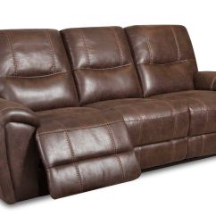 Corinthian Mead Sectional Sofa Bed Bunk Beds Living Room Desert Chocolate Power Reclining