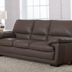 Leather Italia Sofa Furniture Abbyson Living Charlotte Reclining Italian Biancaneve