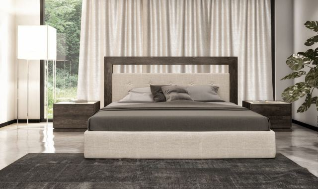 Finesse Modern Bedroom Cloe King Upholstered Bed - Made in ...