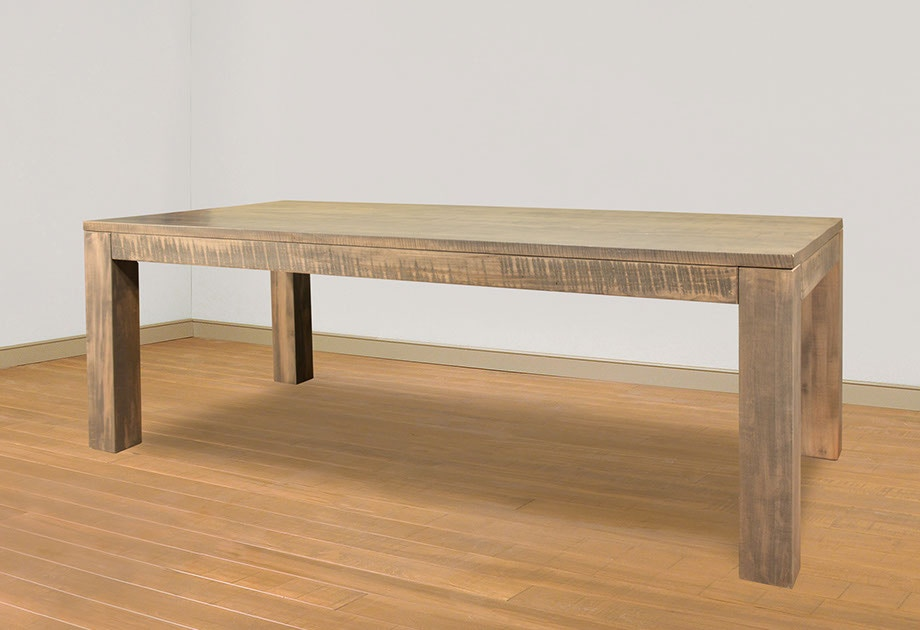 rustic sofa table canada all modern leather sofas ruffsawn dining room heidelberg