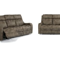 Flexsteel Double Reclining Sofa Reviews Wall Bed Uk Sofas Midnight Luxe