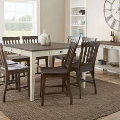 There A Table And Four Chairs In My Living Room Bob Furniture Set Pub Sets Mills Cayla Two Free