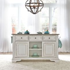 Kitchen Island Marble Top Small Decor Liberty Furniture Marlow Din