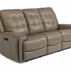 Power Sofa Recliner Mechanism Very Large Flexsteel Living Room Lucas Headrest Reclining