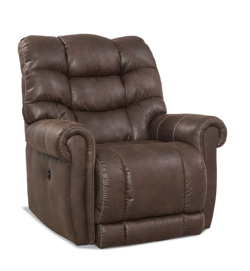 big mans chair oversized recliner covers homestretch irving sable power ure irvingsable