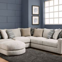 American Furniture Living Room Sectionals Paint Colors For With Dark Brown Couch Three Piece Sectional And Ottoman Pkg Af201 At Furnitureland