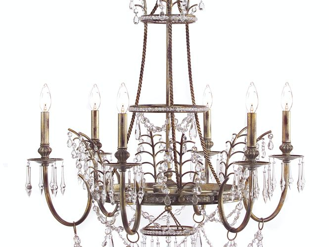 John Richard Versailles Six Light Chandelier