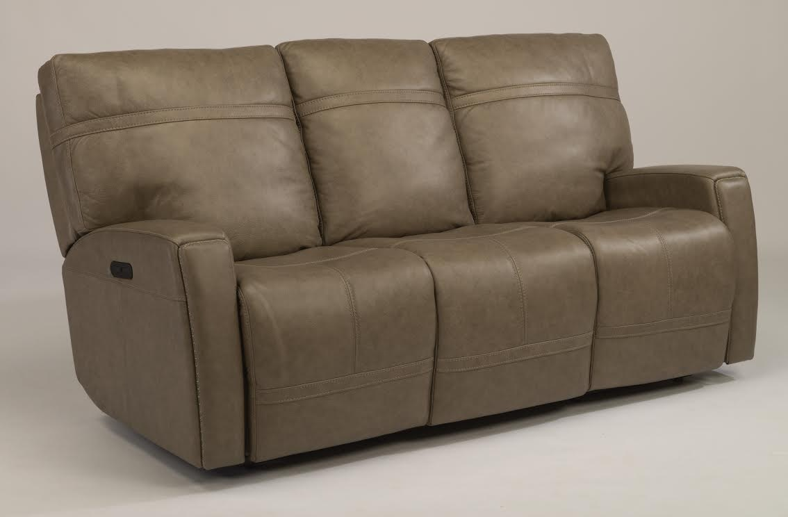 flexsteel leather sofa color repair apartment size bed toronto living room bronx granite reclining with