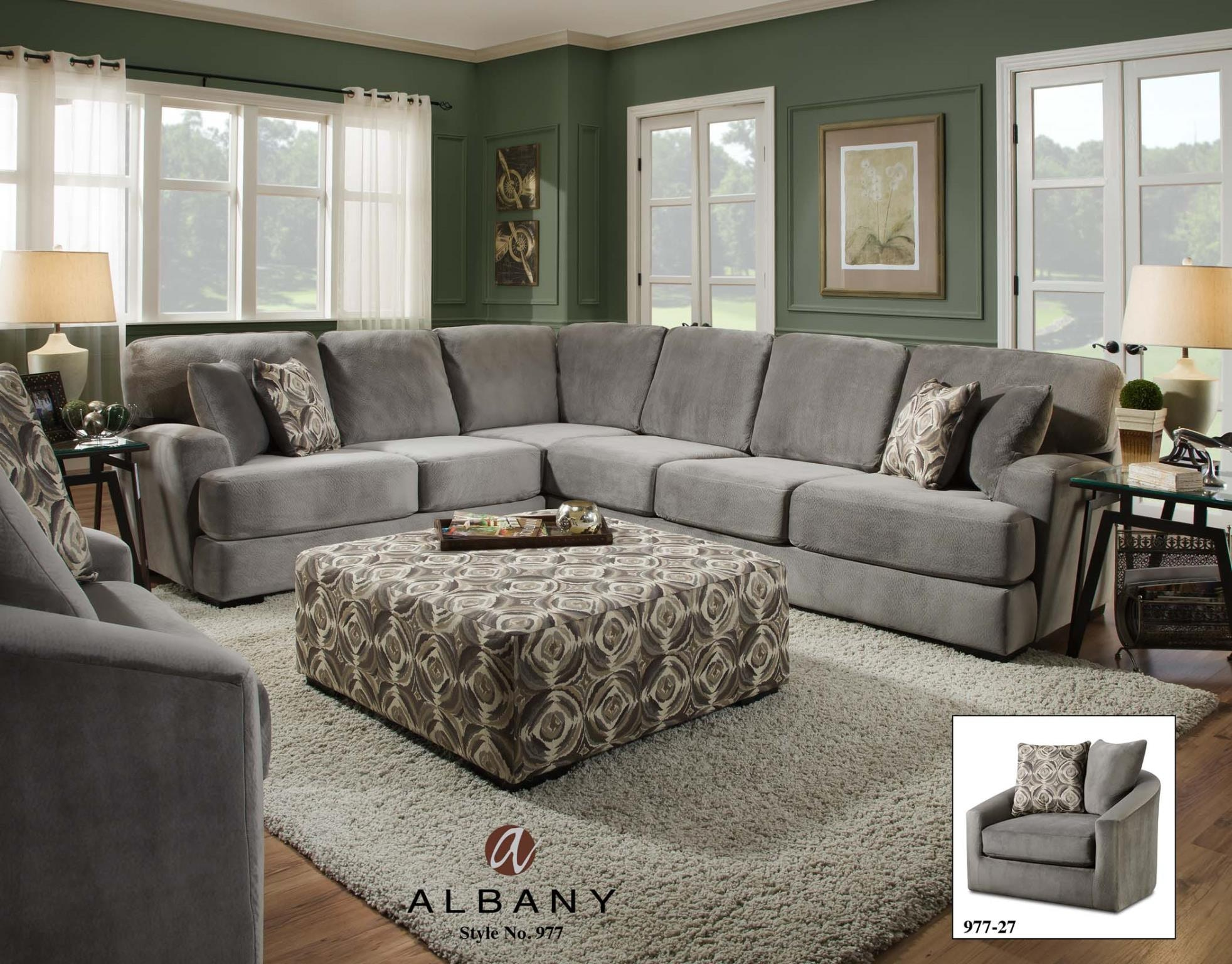 swivel chair in living room covers for reception albany 977 27 feceras furniture at mattress