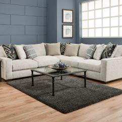 Living Room Mattress Arcadia 3 Piece Leather Set American Furniture 3pc Sectional 1440 At Feceras