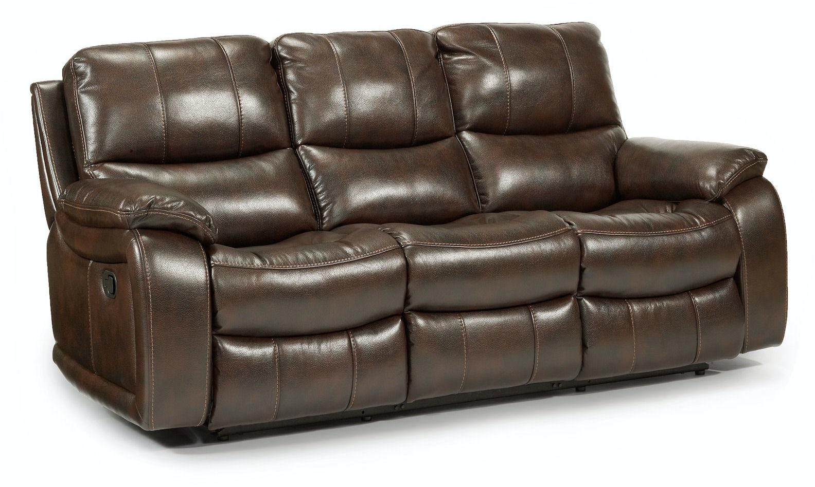 flexsteel julio reclining sofa gumtree bed north london recliner woodstock