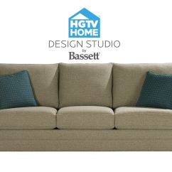 Sofas Grand Rapids Mi Clic Clac Bassett Great Room Sofa With Pillows 514502 Talsma