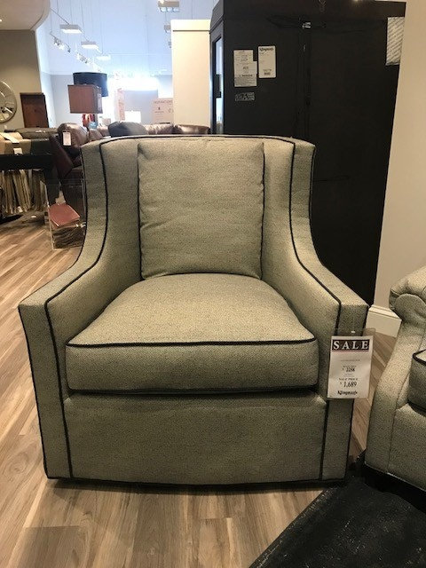swivel chairs living room what color to paint my norwalk furniture gaylord chair 1718079 klingman s at