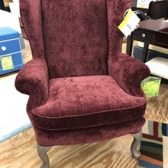 Queen Anne Wing Chair Theo A Kochs Barber Parts Best Chairs Living Room Sylvia 0710r Tip Top At Furniture
