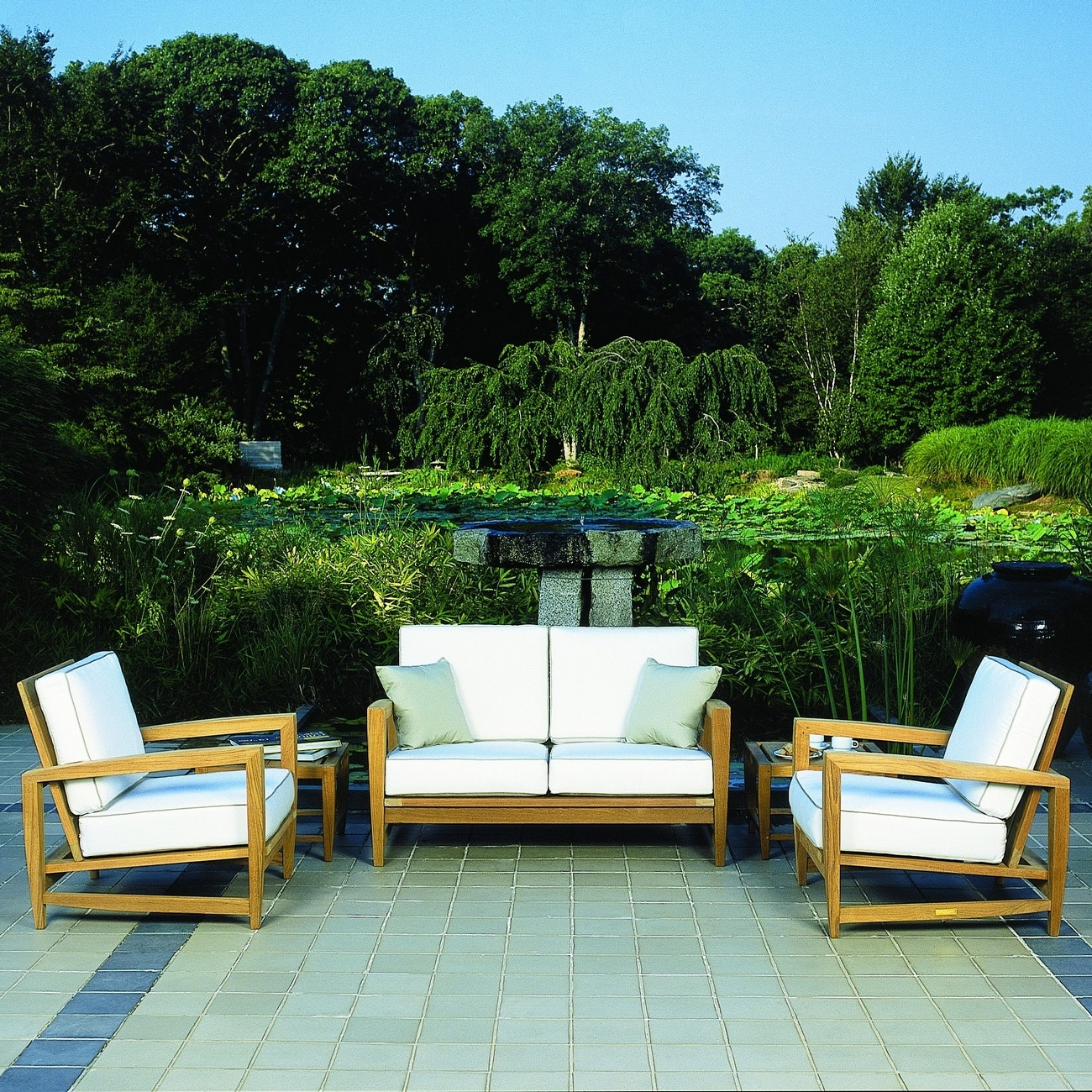 kingsley bate amalfi club chair cool outdoor chairs patio deep seating lounge am30 turner