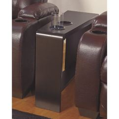 Chair Side End Table With Cup Holder Godrej Revolving 7032 Tables Holders Home Ideas
