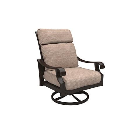 outdoor chestnut ridge swivel lounge chair only 4 left