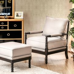 Accent Chairs With Ottomans Low Lounge Chair Furniture Of America Living Room Ottoman Cm Ac6140bg Set
