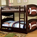 Furniture Of America Bedroom Twin Twin Bunk Bed W 2 Drawers Football Theme Cm Bk065 Fbll T 1
